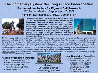 Flyer of the 15th PASPCR Meeting