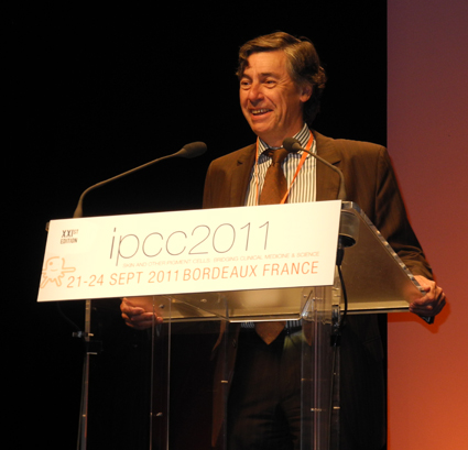 Prof. Alain Taeb, Chair of the 21st IPCC, Bordeaux, France, 21-24 September 2011