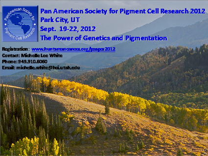 PASPCR 2012 meeting in Park City-UT on September 19-22, 2012