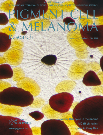 Pigment Cell & Melanoma Research 25:3 (May 2012 issue)