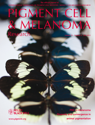 Pigment Cell &amp; Melanoma Research 25:4 (July 2012 issue)