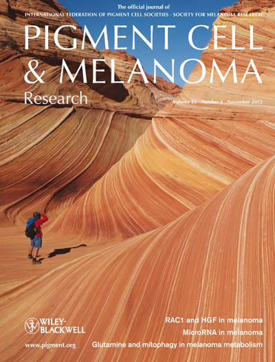 Pigment Cell &amp; Melanoma Research 25:6 (November 2012 issue)