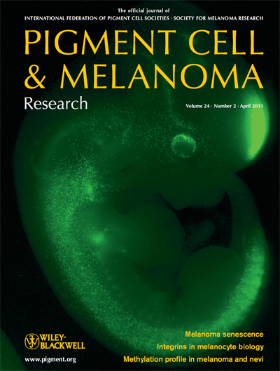 Pigment Cell & Melanoma Research 24:2 (April 2011 issue)