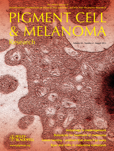 Pigment Cell & Melanoma Research 24:4 (August 2011 issue)