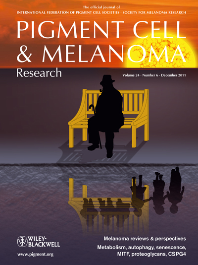 Pigment Cell &amp; Melanoma Research 24:6 (December 2011 issue)