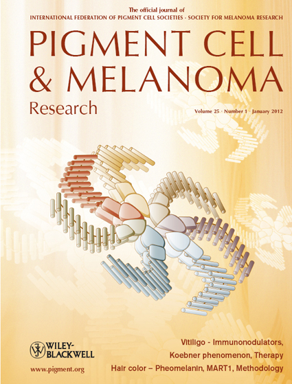 Pigment Cell & Melanoma Research 25:1 (January 2012 issue)