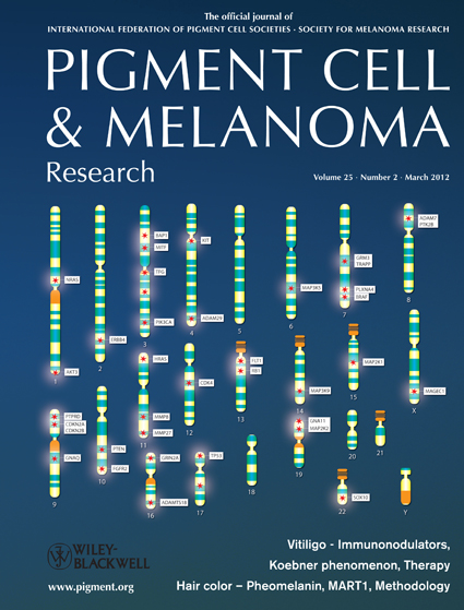 Pigment Cell & Melanoma Research 25:2 (March 2012 issue)