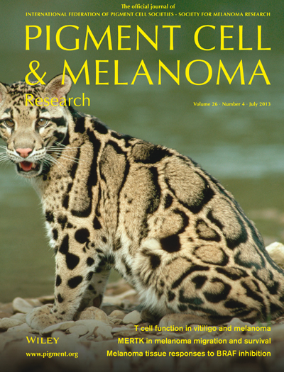 Pigment Cell & Melanoma Research 26:4 (July 2013 issue)