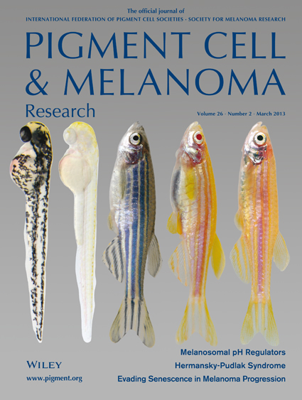Pigment Cell &amp; Melanoma Research 26:2 (March 2013 issue)