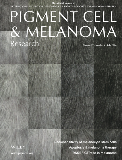 Pigment Cell & Melanoma Research 27:4 (July 2014 issue)