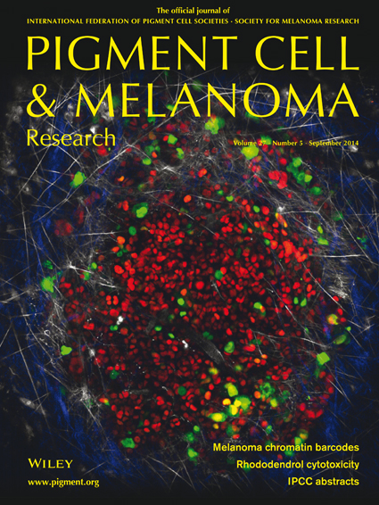 Pigment Cell & Melanoma Research 27:5 (September 2014 issue)