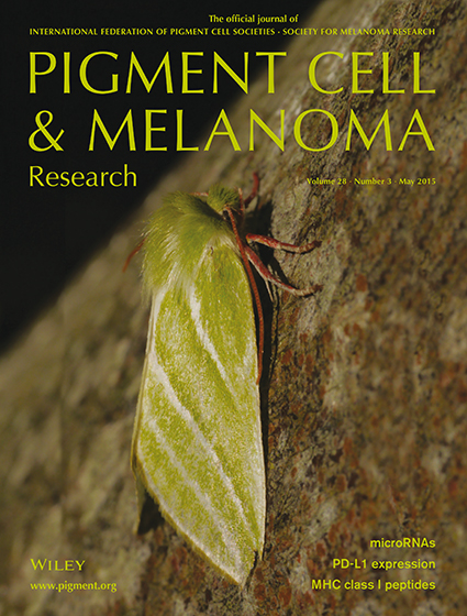 Pigment Cell & Melanoma Research 28:3 (May 2015 issue)