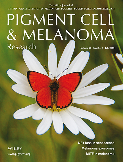 Pigment Cell & Melanoma Research 28:4 (July 2015)
