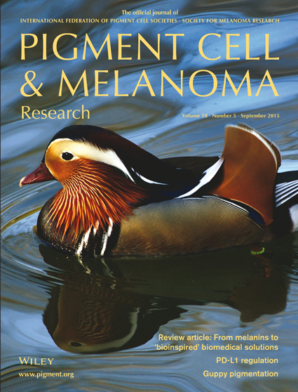 Pigment Cell & Melanoma Research 28:5 (September 2015 issue)