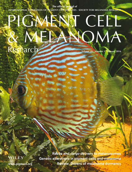 Pigment Cell & Melanoma Research 29:1 (January 2016 issue)