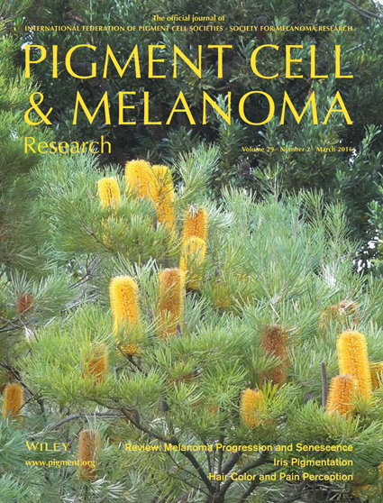 Pigment Cell & Melanoma Research 29:2 (March 2016 issue)