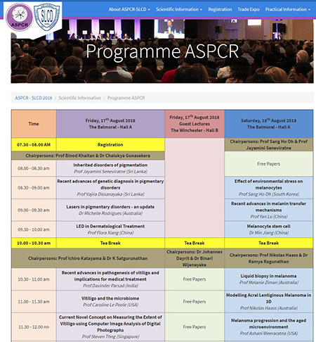 ASPCR 2018 meeting programme is now available!