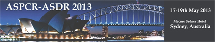 6th ASPCR Conference in Australia in 2013 - Make  your  plans  to  visit  beautiful  Australia!