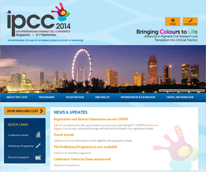 Registration and Abstract submission for IPCC2014-Singapore are now OPEN