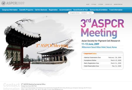 Updated ASPCR 2009 meeting web site