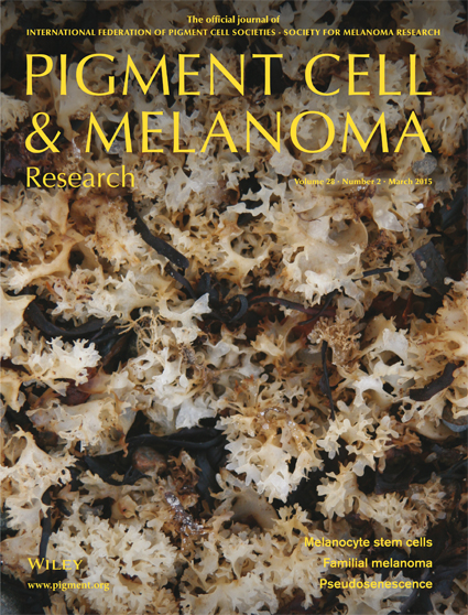 Pigment Cell & Melanoma Research 28:2 (March 2015 issue)