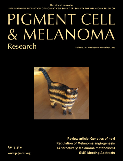 Pigment Cell & Melanoma Research 28:6 (November 2015)